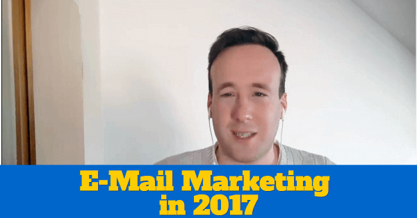 [VIDEO] 3 Tipps für dein E-Mail Marketing in 2017