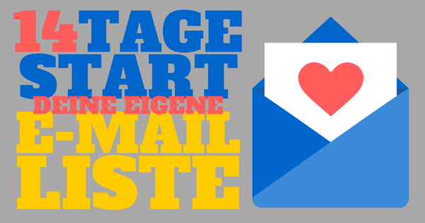 14-Tage Start ins E-Mail Marketing