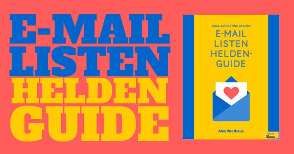 E-Mail Listen Heldenguide